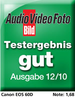 Testlogo Audio Video Foto Bild: Gut für EOS 60D