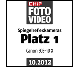 Testlogo Chip Foto Video - Canon EOS-1D X - Platz 1